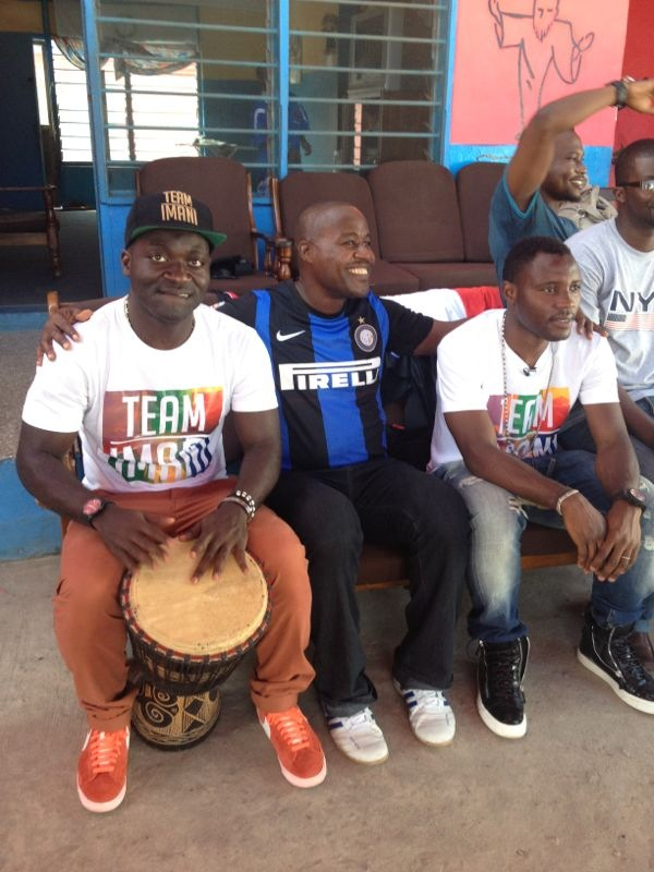 Ghana stars ensured the Remar Center for Rehabilitation was a fun place to be
