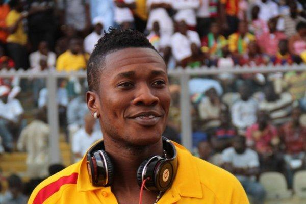 Asamoah Gyan had his US$ 10,000 stolen while he was playing against Lesotho.