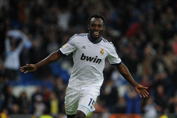 Michael Essien leaves Real Madrid with his head high up