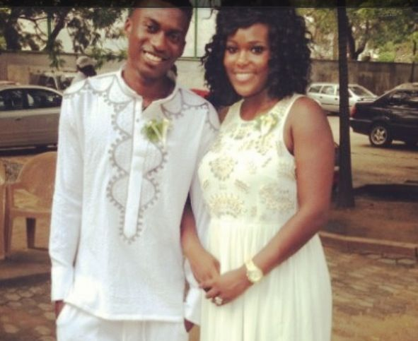 Ghana defender David Addy marries girlfriend Dyen Gabriel