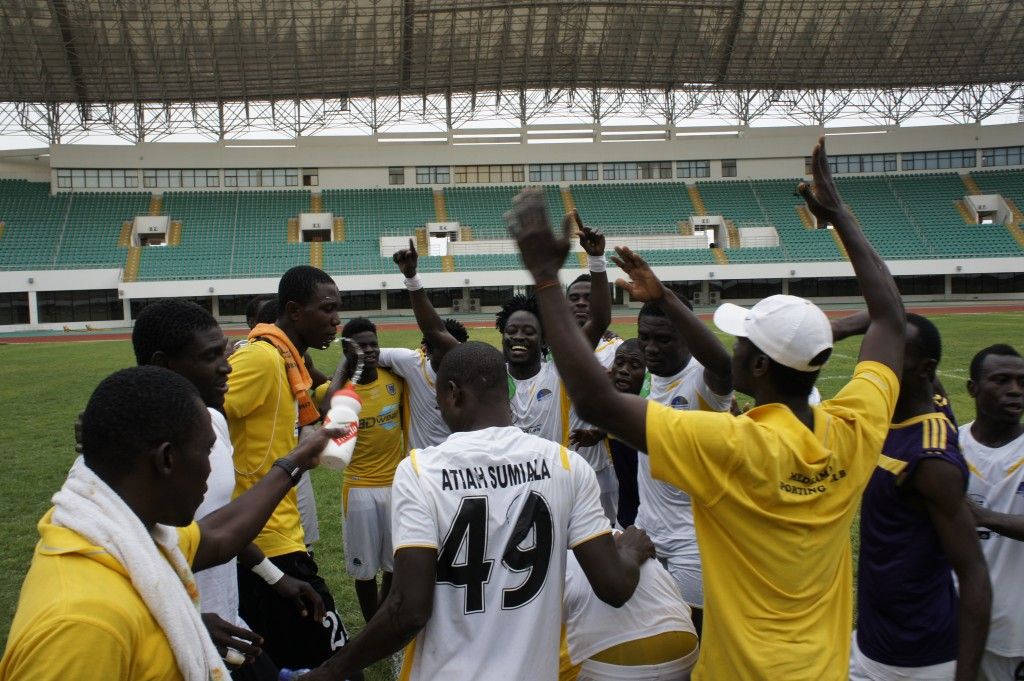 Medeama are through to the MTN FA Cup final.