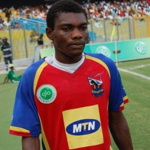 Philip Boampong has returned to Hearts