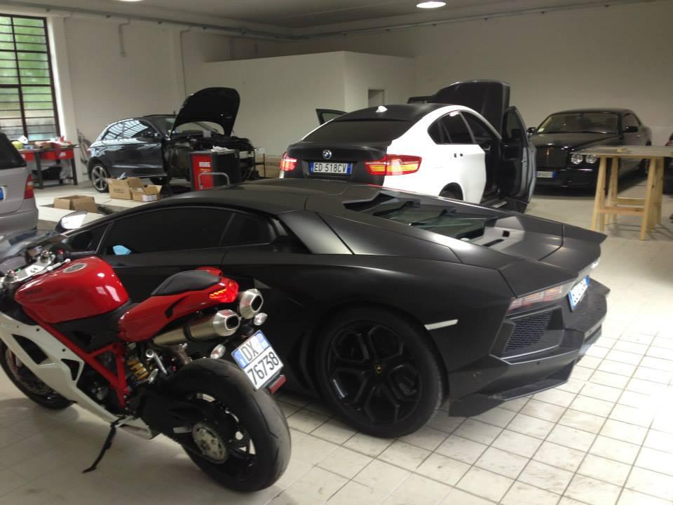 Sulley Muntari owns a car pimping company.