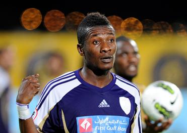 Asamoah Gyan eyeing revenge against Al Ahli