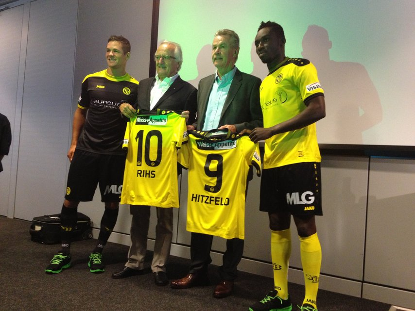 Ghana attacker Samuel Afum had interactions with legendary German coach Ottmar Hitzfeld