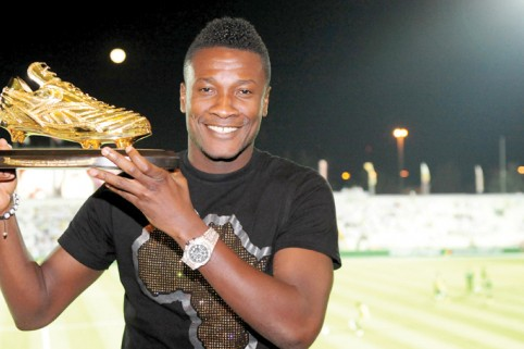 He has been accused of being a mercenary and lacking ambition, but Ghana striker Asamoah Gyan insists he has no regrets over turning his back on the English Premier League for the UAE.