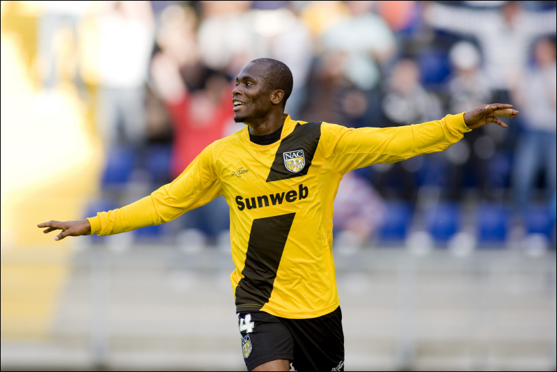 VIDEO: Matthew Amoah dances azonto on NAC Breda return hoping to get a deal