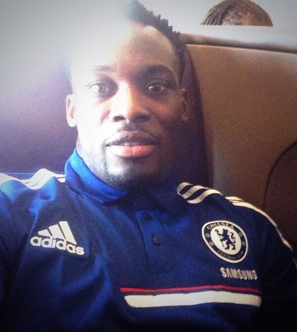 Michael Essien has travelled with the Chelsea squad to Bangkok