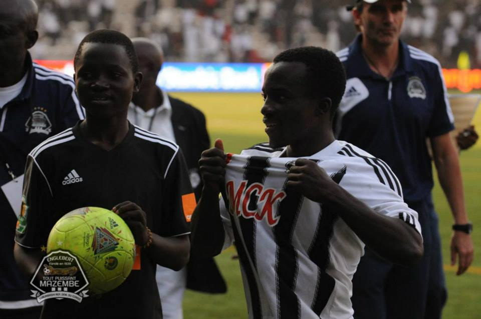 Asante shows off after glistening display