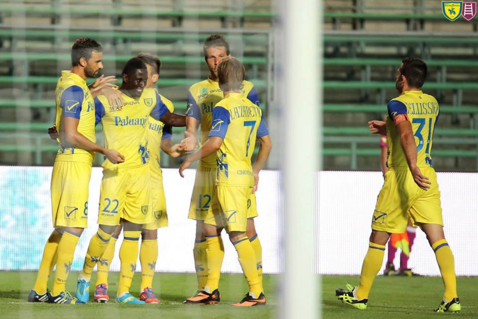 Acosty scored from a header for Chievo Verona