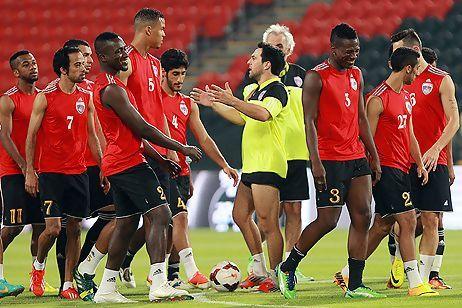 Asamoah Gyan trained with Al AIn on Thursday