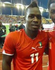 Equatorial Guinea striker Danny Corteuz