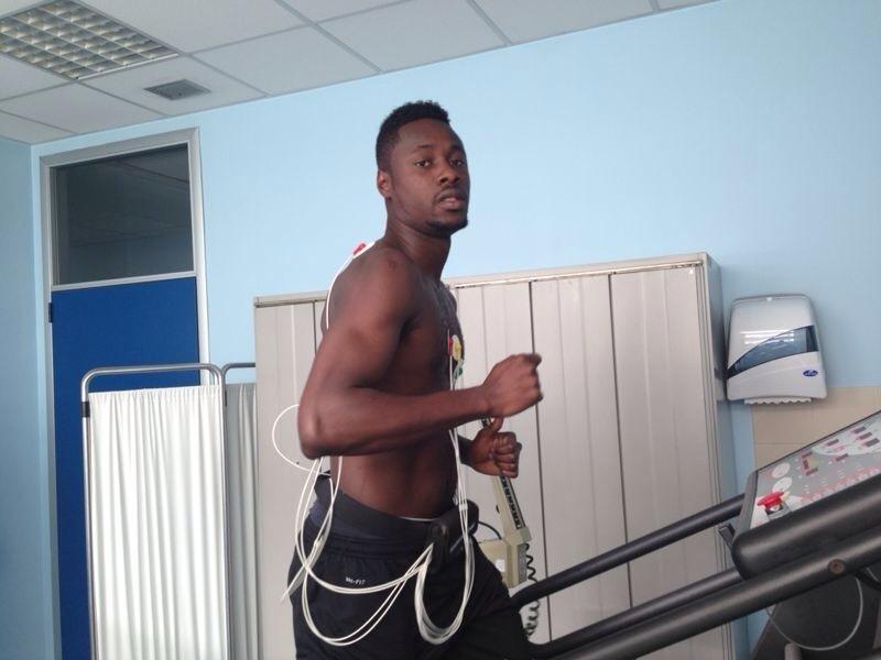 Richmond Boakye-Yiadom undergoing medical at Juventus