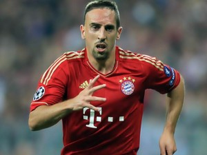 Bayern Munich's Franck Ribery named Europe's best player