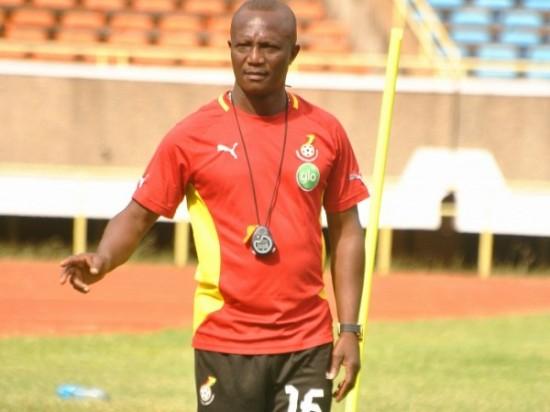 Ghana coach Akwasi Appiah