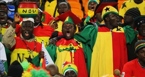 Ghana fans expectant of Ghana win over Zambia