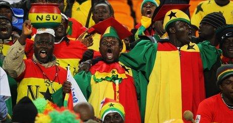Ghana fans expectant of Ghana win over Zambia