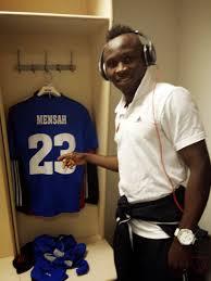 Ghanaian right back Sam Mensah