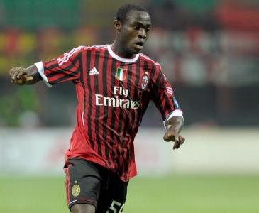 Kingsley Boateng's star has been on the rise at AC Milan