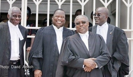Lead lawyers in Ghana's election petition