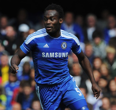 Michael Essien was axed from the Chelsea squad for the game against Aston Villa