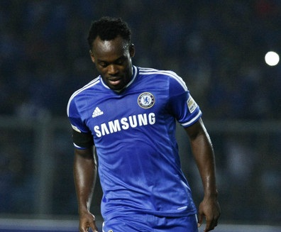 Michael Essien will contest for a place in the Chelsea midfield