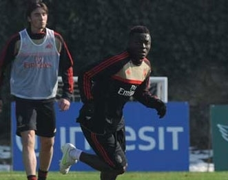 Muntari set to return to Milan's starting line up in Champions League clash against PSV