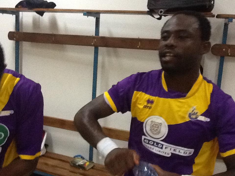 Striker Tanko Mohammed rejoins Heart of Lions after leaving Medeama