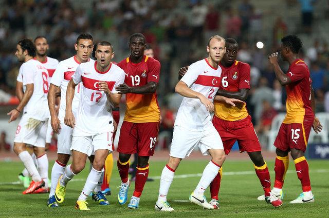 Ghana vrs Turkey