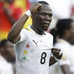 Ghana midfielder Emmanuel Agyemang Badu will be the captain of the Black Stars when they take on Turkey in a friendly on Wednesday night.