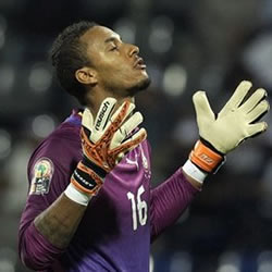 Goalkeeper Adam Kwarasey will start in goal for Ghana against Turkey in Wednesday evening's friendly in Istanbul.