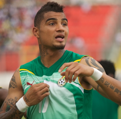 Kevin-Prince Boateng joins Black Stars squad for Zambia clash