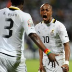 Asamoah Gyan convinced me with his words to make Black Stars return - Andre Ayew