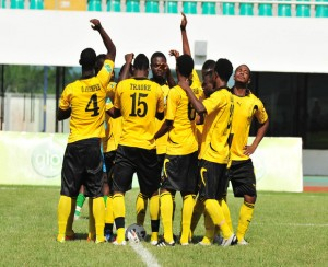 Ashantigold midfielder Alhaji Sannie returns from suspension to face Liberty