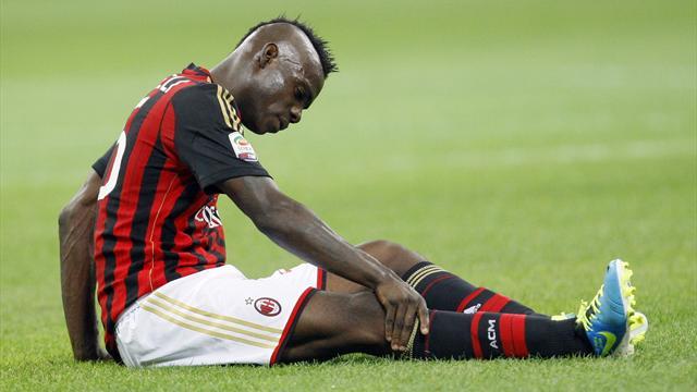 Milan to appeal Balotelli's three-match ban