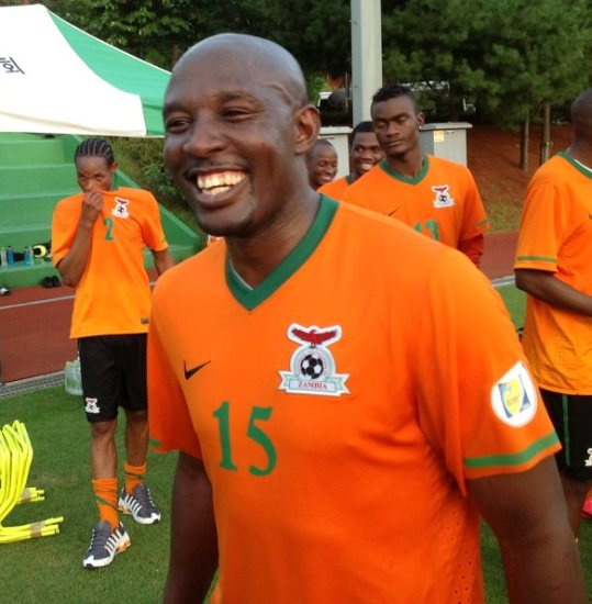 Chintu Kampamba is delighted to be back in the Zambia squad