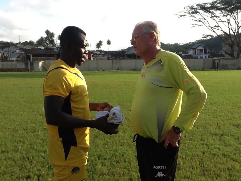 Hans Vander Pluijm in high spirit ahead of Medeama's clash against Bechem United