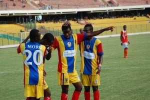 GPL FT: Kotoko 1-0 New Edubiase, Inter Allies 2-3 Hearts, Berekum Chelsea 1-1 Medeama