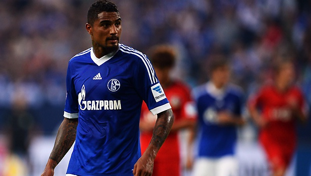 K-P Boateng made his debut for Schalke 04 on Saturday