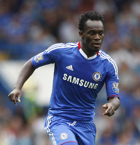 Michael-Essien was not na,med in Chelsea's squad for Champions League.