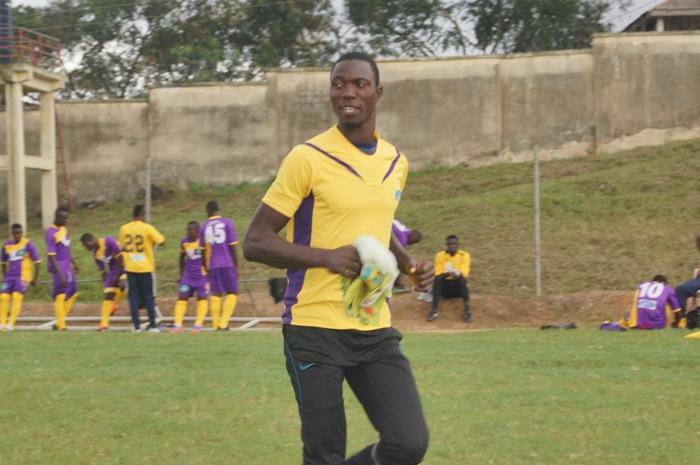 Goalkeeper Muntari Tagoe