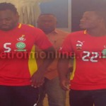 Video: Essien cheered in opening Black Stars training
