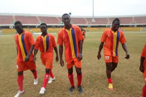Stephen Appiah's protege Okoro hits brace on debut as Hearts crash Global Academy