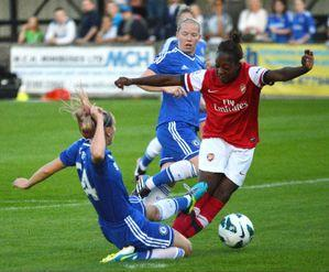 Women's Watch: Ghanaian Freda Ayisi scores for Arsenal Ladies in Uefa Champions League