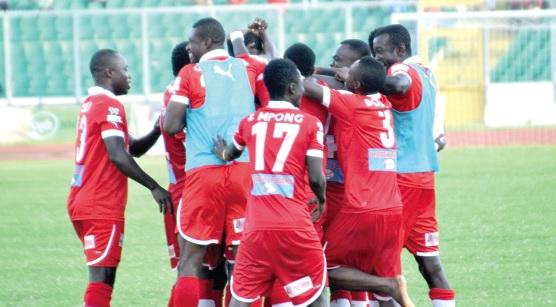 Late Mohammed strike extends Kotoko's winning run in the Premier League against struggling Inter Allies