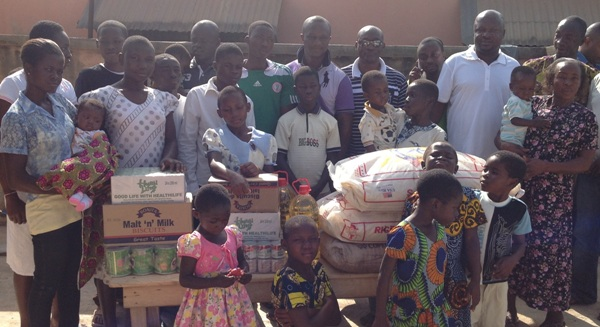 Victorious Ghana coach Appiah makes donation to orphanage