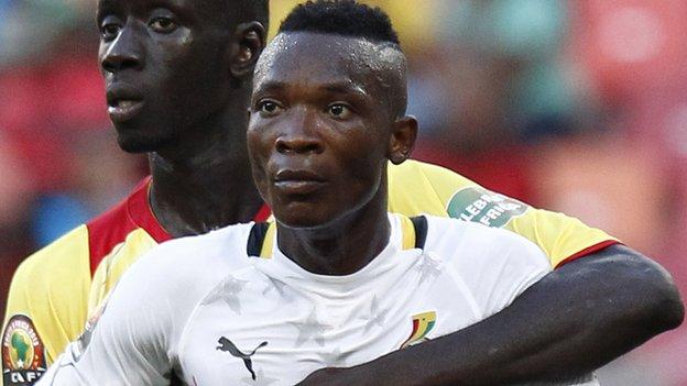 Ghana defender John Pantsil eyes Ghana place in WC squad