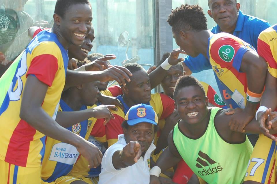 Gilbert Fiamenyoh keeps Hearts winning run, Bechem hold Edubiase while Dwarfs suffer home loss