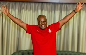Video: Ghana President John Mahama urges Black Stars to defeat Egypt today