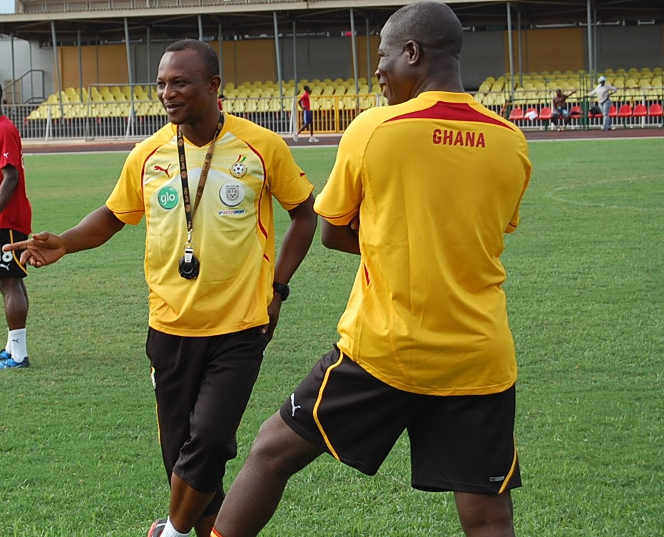 Kwesi Appiah will assess his side.